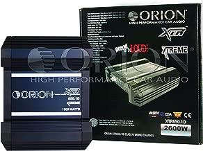 Orion XTR650.1D 2600 Watts Max Class D Mono 1-Channel Sub-woofer Car Audio Amplifier