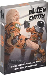 Alien Entity the Chaotic Cooperative Strategy Card Game of Space Paranoia by Braine Games