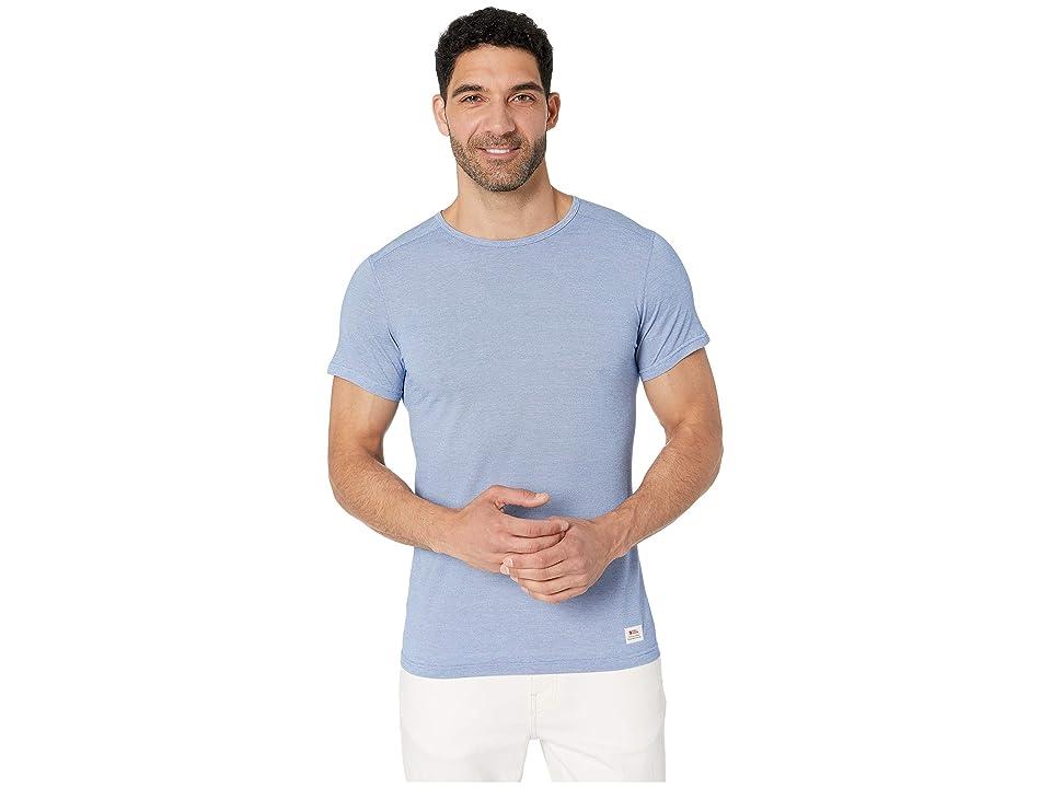 Fjallraven Abisko Shade T-Shirt (Deep Blue) Men