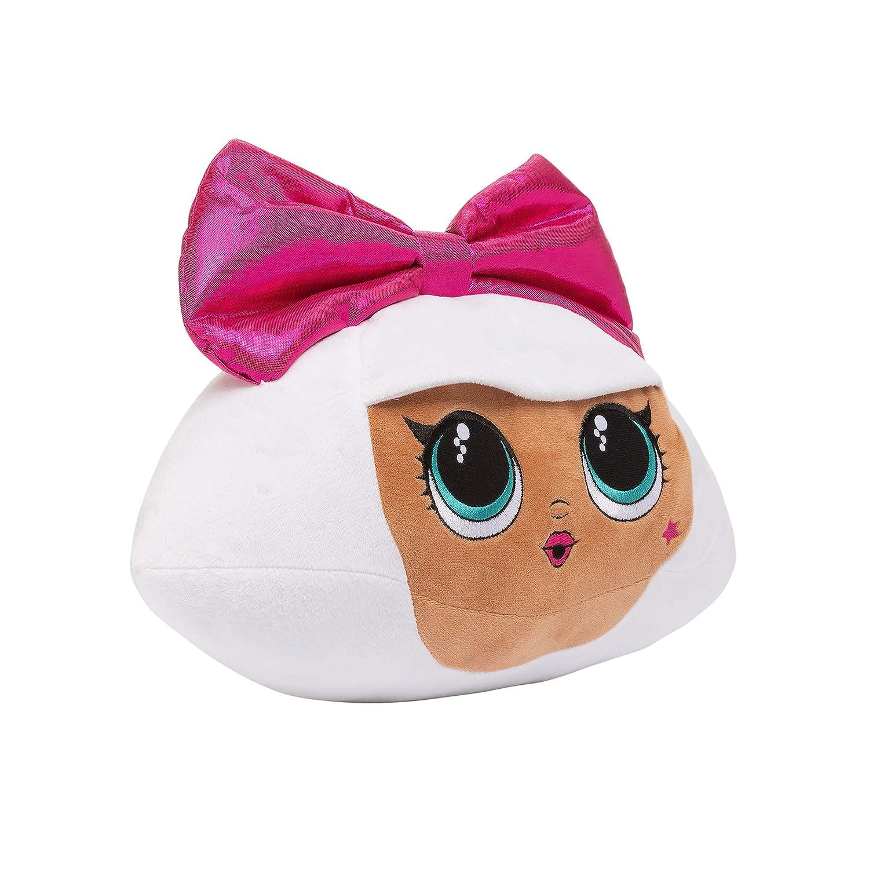 L.O.L. Surprise! Diva Character Soft Plush Cuddle Pillow, White/Pink ohxurw5483075