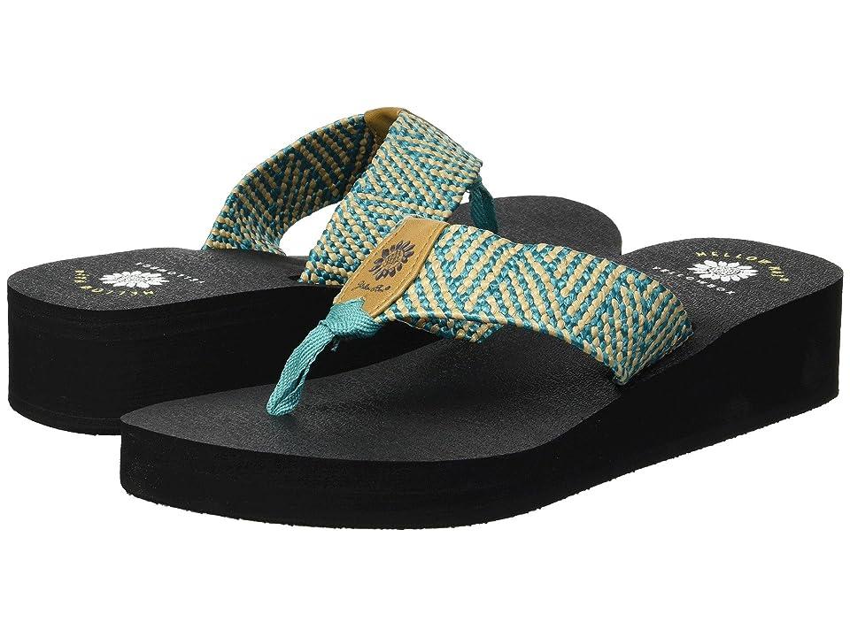 Yellow Box Silma (Turquoise) Women's Sandals, Blue