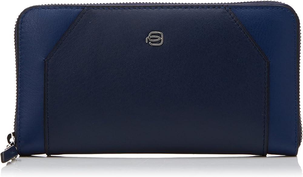 Piquadro portafoglio porta carte di credito da donna in pelle PD1515MUSR2