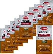 10x Danstar MUNICH Wheat Beer Yeast 11g Fast Fermenting German Belgian Style
