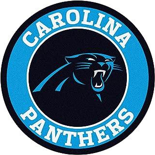 FANMATS 17953 NFL Carolina Panthers Roundel Mat,Team Color