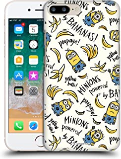 Official Despicable Me Banana Doodle Pattern Minion Graphics Hard Back Case Compatible for iPhone 7 Plus/iPhone 8 Plus