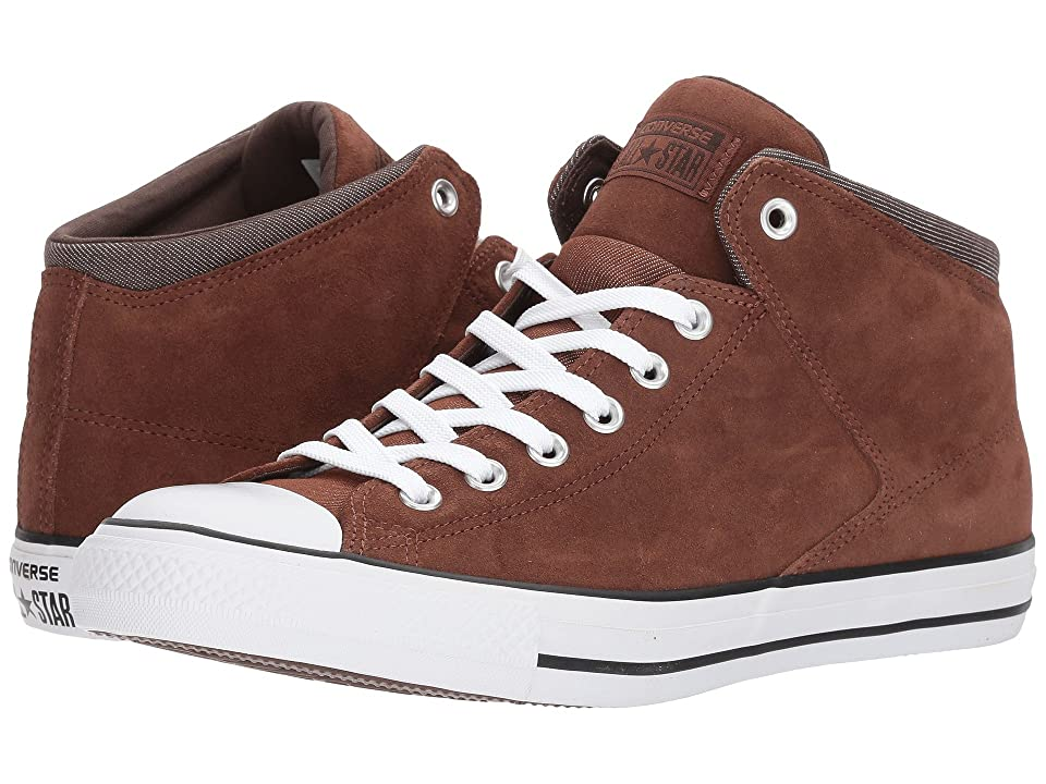 Converse Chuck Taylor(r) All Star(r) High Street Thermal Suede Hi (Dark Clove/Dark Chocolate) Men