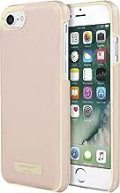 Incipio Apple iPhone 7/8 Kate Spade New York Wrap Case - Saffiano Rose Gold/Gold Logo Plate