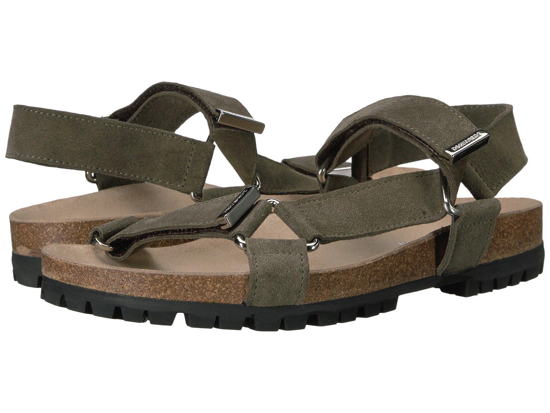DSQUARED2 Berk Suede Sandal