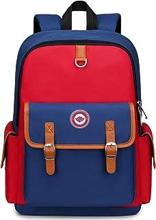 Kids Backpack for Kindergarten, FLYMEI Canvas Backpack for Boys and Girls