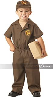 California Costumes Ups Driver Toddler Costume, 2-3