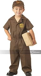 California Costumes Ups Driver Toddler Costume, 2-3