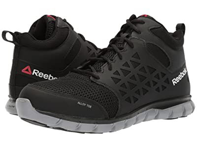 Reebok Work Sublite Cushion Work Mid SD (Black) Men