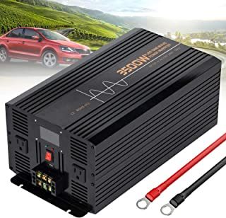 500W 1000W 1200W 1500W 2000W 2500W 3000W 3500W 4000W 5000W 6000W Power Inverter Pure Sine Wave 24V DC to 110V/220V AC Powe...