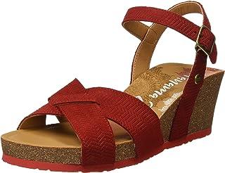 131ea396 Amazon.es: sandalias panama jack - Rojo