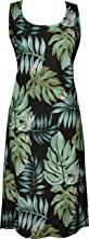 product image for Paradise Found Womens Leaves Short Tank Dress Black M