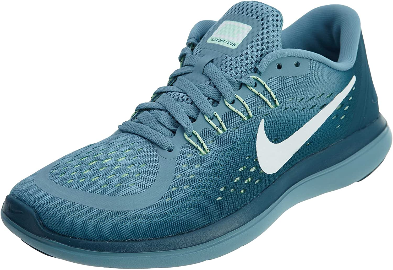 NIKE Kvinnors Flex 2017 RN springaning skor skor skor Cerulean  vit  Space blå  Mint Foam Storlek 9.5 M USA  snabba svar