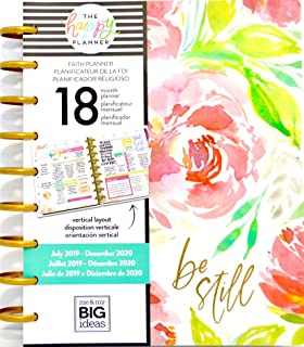 MAMBI, The Happy Planner - 18-Month Faith Planner (2019-2020)