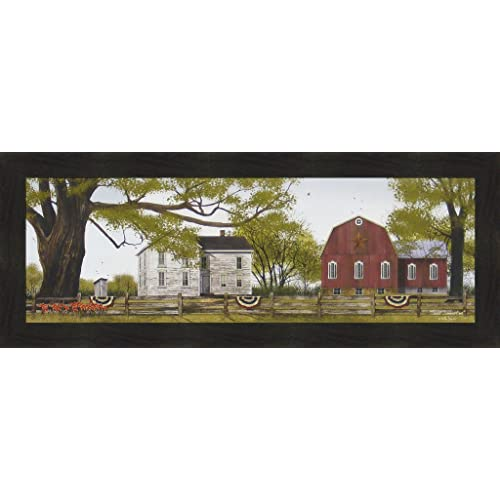 Billy Jacobs Spring Flowers Country Art Print 36 x 12
