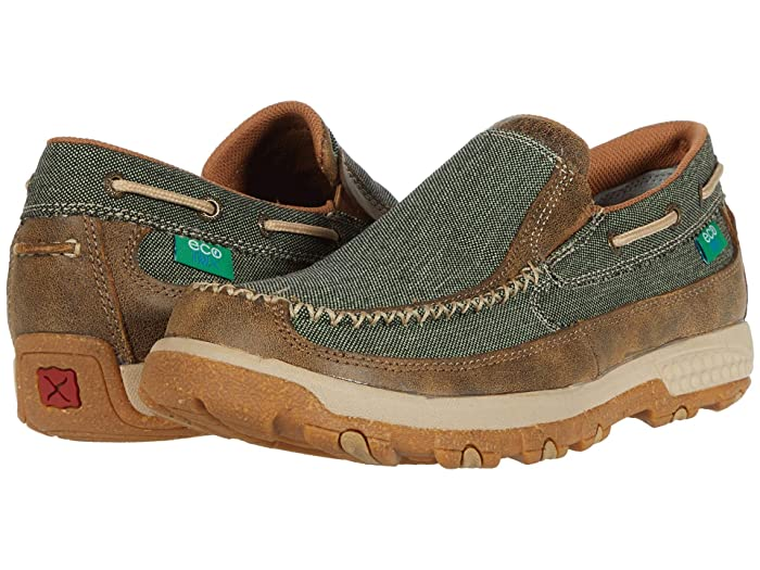Twisted X  MXC0007 (Olive/Bomber) Mens Shoes