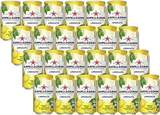 サンペレグリノ(S.PELLEGRINO) イタリアンスパークリングドリンク リモナータ (レモン) 330ml ×24本