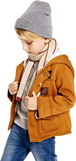 Algodón Abrigo para Niños, Niños Parka Duffle Invierno Calentito Manga Larga Chaquetas con Capucha Horn Botón Acolchado Ab...