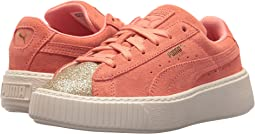 Puma Kids - Suede Platform Glam (Little Kid)