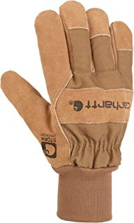 Men's Wb Suede Leather Waterproof Breathable Work Glove