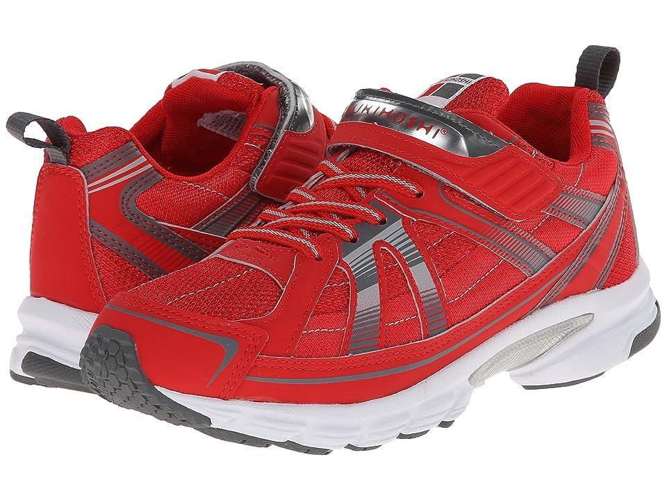 Tsukihoshi Kids Youth Storm (Little Kid/Big Kid) (Red/Gray) Boys Shoes