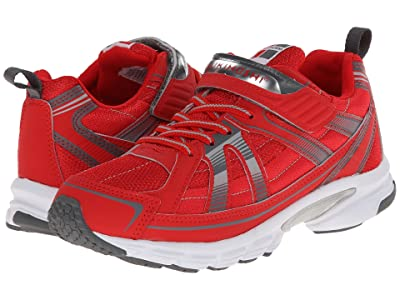 Tsukihoshi Kids Youth Storm (Little Kid/Big Kid) (Red/Gray) Boys Shoes