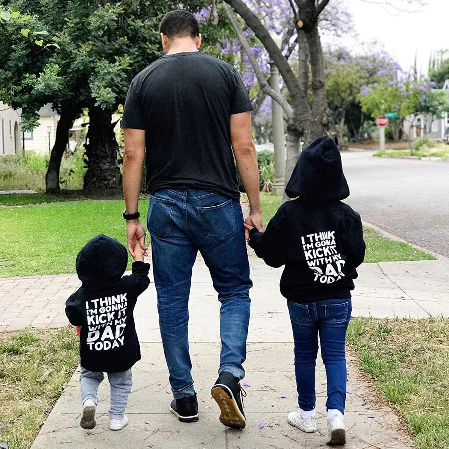 Toddler Boys Girls Hoodies Sweatshirt Long Sleeve Pullover Tops Unisex Baby Love Shirts Fall Winter Clothes