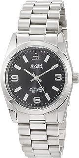 [エルジン]ELGIN 腕時計 シンプル オールステンレス 10YEARSクォーツ FK1421S-B メンズ