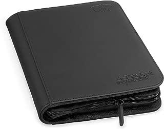 Ultimate Guard 4-Pocket ZipFolio, XenoSkin, Black