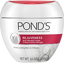 Pond's Anti-Wrinkle Face Cream Anti-Aging Face Moisturizer With Alpha Hydroxy Acid and Collagen 14.1 oz