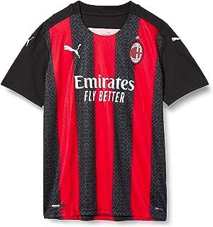 PUMA AC Milan Stagione 20/21, 1a Maglia Versione Replica jr Unisex Bambini