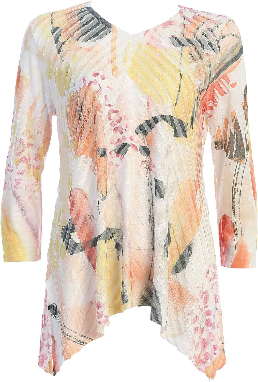 Jess & Jane Women's Camille Wavelet Tunic Top
