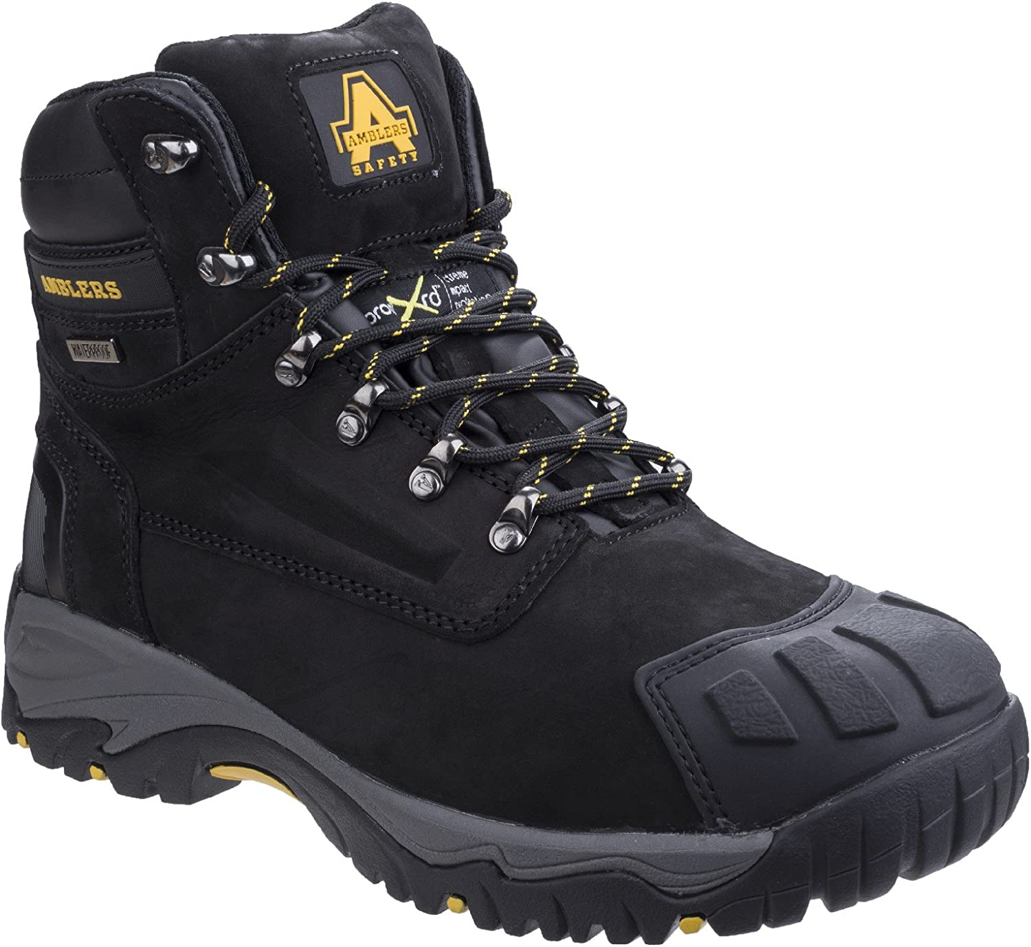 Amblers Safety Mens FS987 Metatarsal Predection Waterproof Lace Up Safety Boot