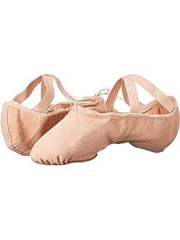 Bloch Zenith Stretch Canvas Split-Sole Ballet Pink