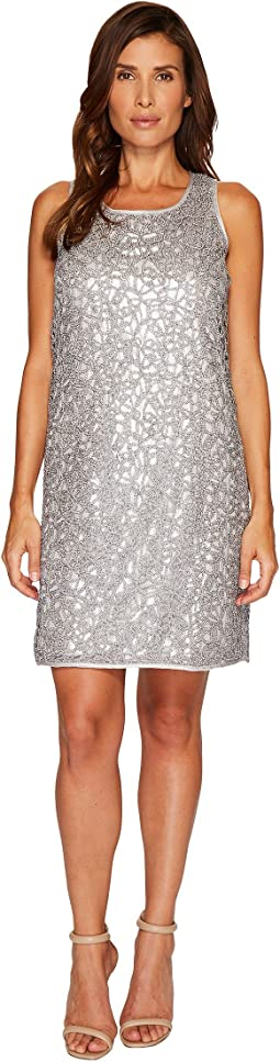 NIC+ZOE - Metallic Lace Dress