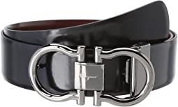 Salvatore Ferragamo - Adjustable/Reversible Belt