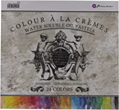 Prima Marketing Water Soluble Oil Pastel Assorted Color Crayons (Box of 24)