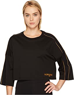 Versace - Active Mesh Logo Long Sleeve Tee