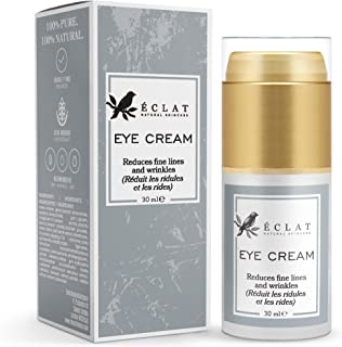 Eye Cream by Eclat Skincare - Hydrating Eye Cream for Crows