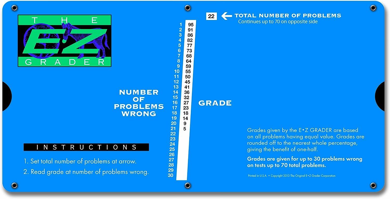 E-Z Grader 7200 New sales Large Grading Educational Ranking TOP17 Print Char