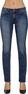 Calvin Klein Women's Straight Leg Denim Jeans