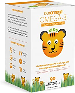 Best coromega omega 3 fish oil squeeze packets Reviews