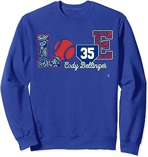Cody Bellinger Love Player Sweatshirt - Apparel