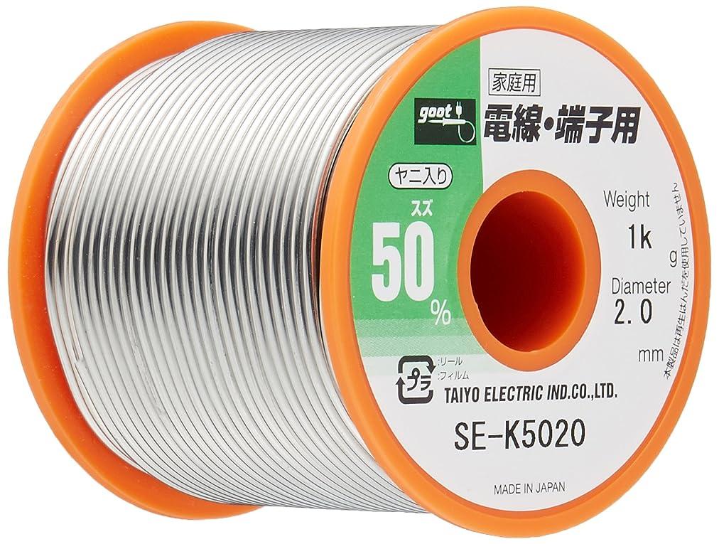 硫黄北西呼び起こすグット はんだ2.0mm 1Kg巻 SE-K5020
