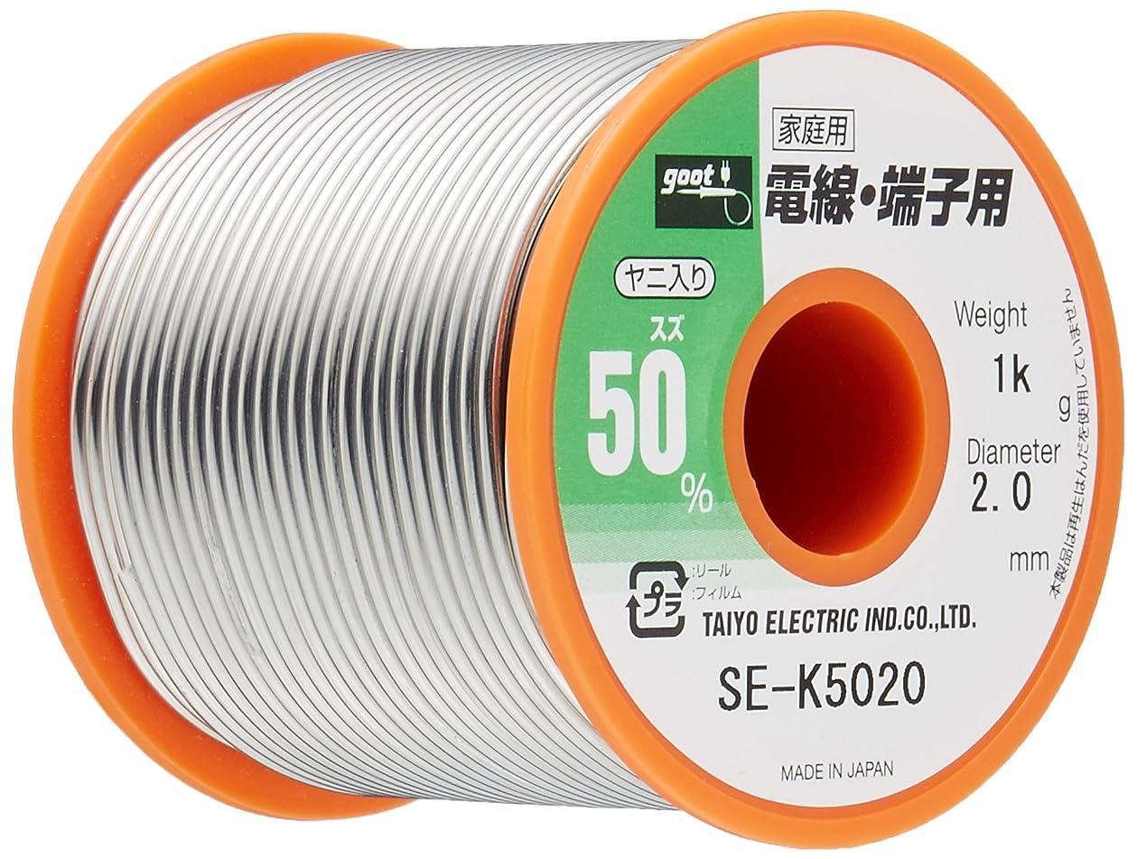 極めて重要な逆さまにリーガングット はんだ2.0mm 1Kg巻 SE-K5020