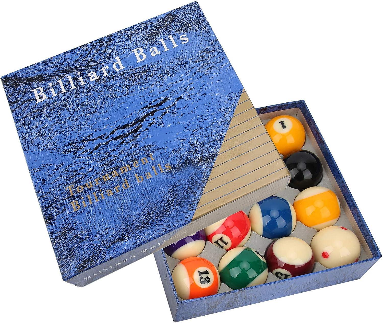 VGEBY Billiard Balls 16PCS 57mm Max 79% OFF Jacksonville Mall Snooker Glossy Prof Resin