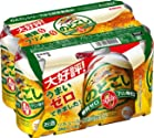(糖質ゼロ・プリン体ゼロ・人工甘味料ゼロ) キリン のどごしZERO 350ml×6缶